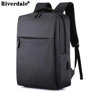 Рюкзак Riverdale 15.6 дюймовый ноутбук мужская USB зарядка сумка задние пакеты для женщин анти кражи ruckack 2021 ноутбука