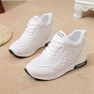 Женская обувь кроссовки женщин мода повседневные клинья платформа женские женские бренд роскошные туфли женщин дизайнеры кроссовки