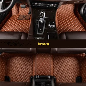 Custom car floor mats 5or7 seat all model FOR vw golf bmw e46 ford focus 2 Chevrolet cruze volvo XC90 Car mats car accessories g h