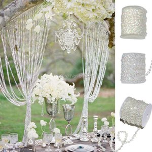Blinds AB 10mm *30 Meters Glass Crystal Beads Curtain Living Room Passage Window Door Wedding Party Backdrop