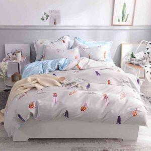 100%Cotton Twin Queen King size Bedding Kids Girls bed sheet Fit sheet Duvet quilt cover Set Pillowcase
