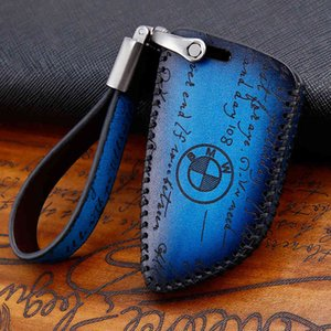 Key Packet Suitable for Bmw X1x2x3x4x5x6 1 Series 3 5 118i320li520530 Leather Car Key Case
