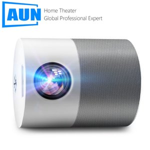 AUN ET40 Full HD Beamer Android 9 MINI Projector 4k Decoding Videoprojector LED TV for Home Theater Cinema Mobile