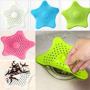 Andere Bad WC liefert Kreatives Pentagramm-Waschbeckenfilter Küchenbildschirm Kieselgel-GEL 4PC-Ablauf-Silikon-Stopper