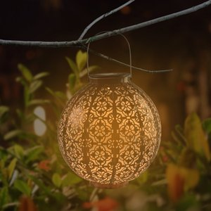 LED F5 Straw Hat Lamp Lanterns Solar Light Control Automatic Induction Garden Decoration Lamps Outdoor Waterproof Gardens Retro Iron Battery Capacity 600MAH 0.06W