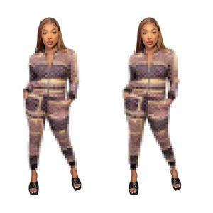 Kadın Eşofman Spor Takım Elbise Kazak ve Pantolon 2 Adet Set Kadın Gym Fitness Koşu Suit Bayanlar Giyim