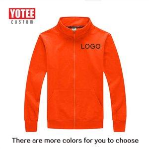 Yotee 가을 스탠드 칼라 스웨터 개인 회사 그룹 유니폼 맞춤 맞춤 디자인 PO 201022