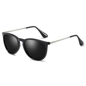 Óculos de sol de designer de Erika para mulheres polarizado uv400 espelho tons homens dirigindo USA FBA armazém entrega rápida