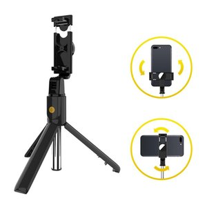 Selfie Monopods K10 Bluetooth 4.0 Stick Tripod 3.5-6.2 Inch Mobile Phone Smart Remote Wireless Handheld Extendable Monopod For IOS Androi