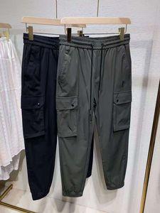 21FW cedo calças primavera esporte ao ar livre calças de trilha soltas casuais cintura elástica calça calça de rua Calças de cordão ZDLD0515.