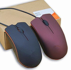 Mini Wired 3D Optical USB Gaming Mouse Mice For Computer Laptop Game Mouses with retail box