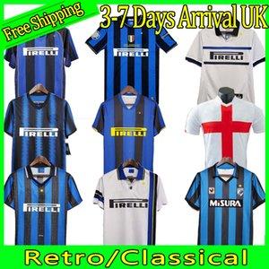 Finaller 2009 10 Milito Sneijder Zanetti Retro Futbol Jersey Eto'o Futbol 97 98 99 02 03 Djorkaeff Baggio Ronaldo Adriano Milan 10 11 07 08 09 Inter Batistuta Zamorano