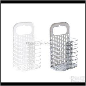 Baskets Folding Hamper Dirty Wall Hanging Household Plastic Clothes Storage Bathroom Laundry Basket 0Lcfo Sxpek