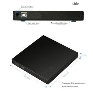 External DVD disc drive USB2.0 CD DVD-ROM CD-RW player portable notebook computer burner