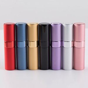 8ml Portable Mini Perfume Atomizer Refilable Empty Small Spray Bottle for Travel, Twist Tpye Pocket Cologne Sprayer