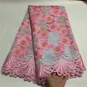 Ribbon Nigerian Milk Silk African Lace Fabrics Guipure Fabric High Quality Cord For Wedding French TF5-8D