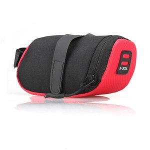 Wholesale- Bags Bicycle Seat Bag Cycling Saddle Pannier Road Bike Seatpost Pack MTB Quick Release Bike Pouch Bicycle Sports Bags SSF982
