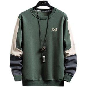 Men's Hoodies & Sweatshirts 2021 Spring Autumn Men Youth Long Sleeve Fashion Casual O-neck Hoodie Male High Quality Drop