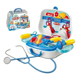 KitchenMedical House Simulation love Play doctor's suitcase injection to see a doctor children's home wine toys real stethoscopeSnack Food C