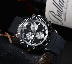 جميع الطلبات العمل رجل ساعة توقيت حركة كوارتز ساعة السيارات تاريخ جودة عالية deisgner الرجال المزدوج ضوء الليل الساعات montre de luxe