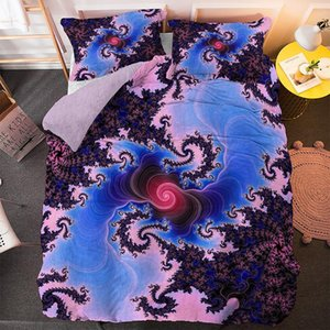 Bedding Sets Boho Set 2 3PCS Pillowcase Covers Duvet Cover Bedclothes Single Twin Full Queen King Size Drop