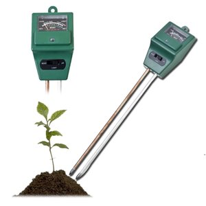 Arrival 3 in 1 PH Tester Soil Detector Water Moisture humidity Light Test Meter Sensor for Garden Plant Flower DWF5391