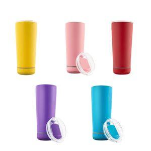 11 colori 18 once wireless bicchiere in acciaio inox sublimazione in acciaio inox tazza intelligente USB caricatore portatile altoparlante tazze