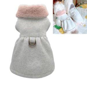 Pet Dog Vest Jacket Clothing Autumn Winter Fox Warm Dog Clothes Coat for Small Medium Dogs Dress XS-XL