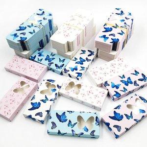 3D Butterfly Eyelashes Packaging Box Wholesale Lashes Boxes Empty Eyelash Pack Case