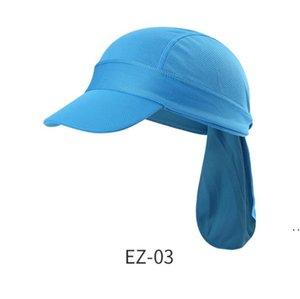 Waterproof UV Resistance Fishing Cap Party Supplies Men Women Outdoors Pure Color Sun Protection Hat Climbing Caps Pattern HWC7167
