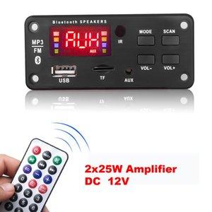 Decoder Board DC 5V 18V Bluetooth V5.0 Car Player USB Recording Module FM AUX Radio For Speaker Handsfree & MP4 Players MP3