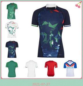 2021 2022 Львы Мужская рубашка для регби Международный лига Джерси Главная страна