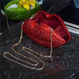 Waist Bags Luxury Designer Purses And Handbags Clutch Evening Hand For Women Rhinestone Acrylic Party Purse Shoulder Bridal Bag