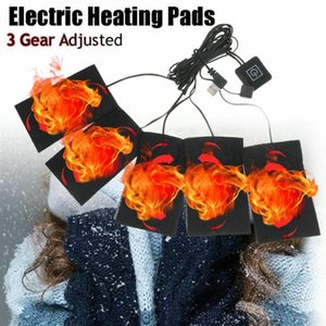 Or 8 Pad 1 Set USB Winter Warm Heated Jacket Heating Outdoor Themal Vest Pads For DIY Clothing Back Support