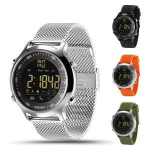 Outdoor Smart Uhren EX18 Lange Standby Professional Tauchen Noctilucent Fitness Smartwatch Bluetooth Sync Anrufnachrichten Multifunktions Gesundheit Tracker