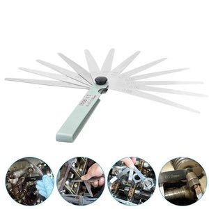1pcs 17 Blades Spark Plug Thickness Gap 100mm Metric Filler Feeler Gauge Metric Measurement 0.02 to 1mm Steel Measuring Tools