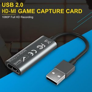 2 유형 HD-MI 비디오 캡처 카드 USB 2.0 PS4 게임용 DVD HD Camcorder Nintendo 스위치 라이브 스트리밍 용 HD-MI 레코드