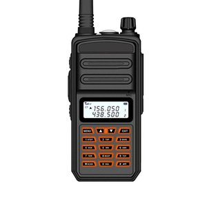 Walkie Talkie IP65 Waterproof 10W 15KM Long Range Powerful CB Radio VHF UHF Portable US EU AU UK Plug Hunting Ham