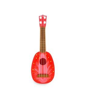 Sensory Emotional Hearing Can Play Simulation Ukulele Mini Fruit Guitar Child Early Education Music Toy Instrument