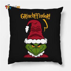 Drink Up Grinch Merry Christmas gift Pillowcase Xmas Decor for Home Decor for Christmas Ornaments Xmas Noel Santa Claus 2021