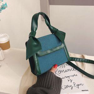 PB0006 New Fashion Trend Messenger Bag Portable PU Leather Small Square Crossbody Bags Single Shoulder