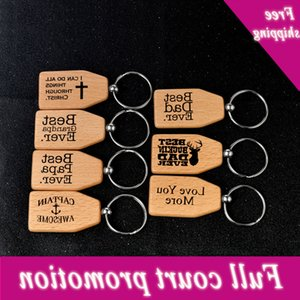 Best papar dad   grandpa ever key chain father's gift