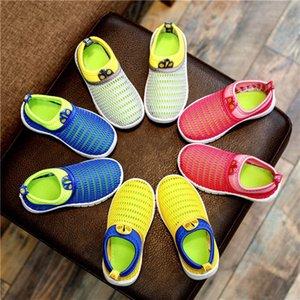 Non-slip Autumn Children Boys Mesh Sneakers Spring Girl Sport Breathable Sneakers Soft Bottom Casual Kids Shoes