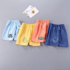 Shorts Summer 1-5Y Children Cotton For Boys Girls Cartoon Print Toddler Panties Kids Beach Short Sports Pants Baby