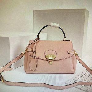 Высокое качество Оптовая продажа 53941 Georges Bb Cross Body Bag Мода Сумки Tote Женщины Тибит Металлический Замок Натуральная Кожа Классические Сумки на плечо 53942 53943