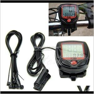 Computers Waterproof Digital Lcd Computer Cycle Bike Speedometer Odometer Professional Bicycle Accessories Ws59 Ty0Bo Ojha8