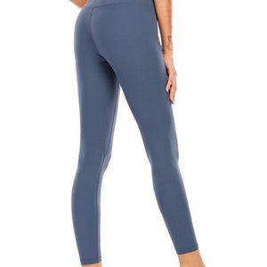 naked material soft yoga pants women yoga high waist your leggings sports gym fitness lady 25\\