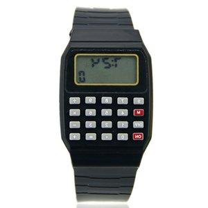 AD G22 Electronic 21ss Multi-Purpose Date Kids Children Calculator Wrist Watch Fad Silicone 992