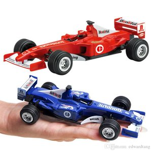 DBH Children Diecast Alloy F1 Racing Car Model Toys, Karting 1:32 High Simulation with Pull Back, Boy' Favourite for Xmas Kid Birthday Gifts