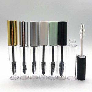 10ML Empty Mascara Bottle Container Tube With Eyelash Wand Brush Round Eyelash Bottles Clear Empty Mascara Packing